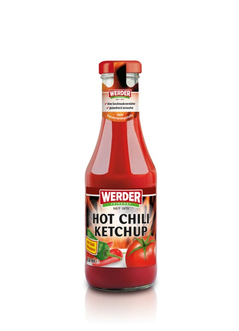 WERDER Hot Chili Ketchup